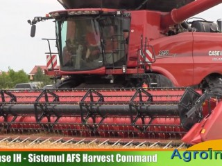 Case IH - Sistemul AFS Harvest Command